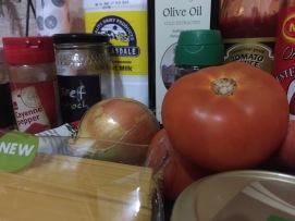 Oven Spaghetti Ingredients 2