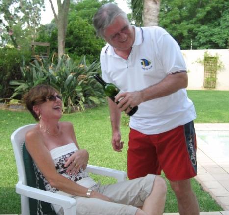 Mum & Jon Sharing a laugh