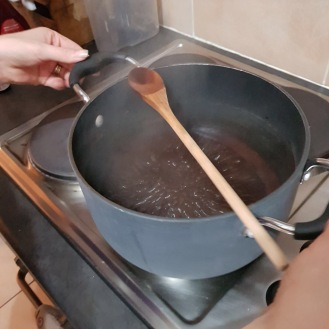 Boil for exactly 1 minute